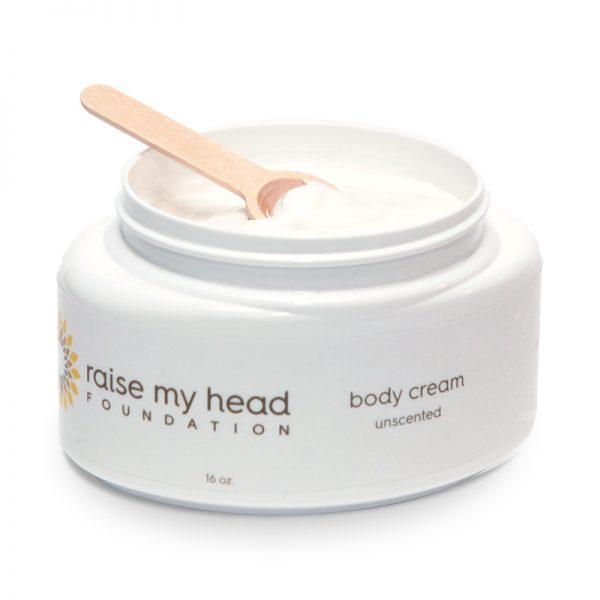 body cream unscented Raise My Head
