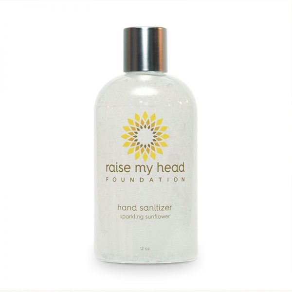 sparkling sunflower hand sanitizer